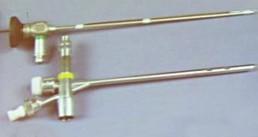 Equipamento endoscópico para dilatação laringotraqueobrônquica e para cirurgia endoscópica dessa região.